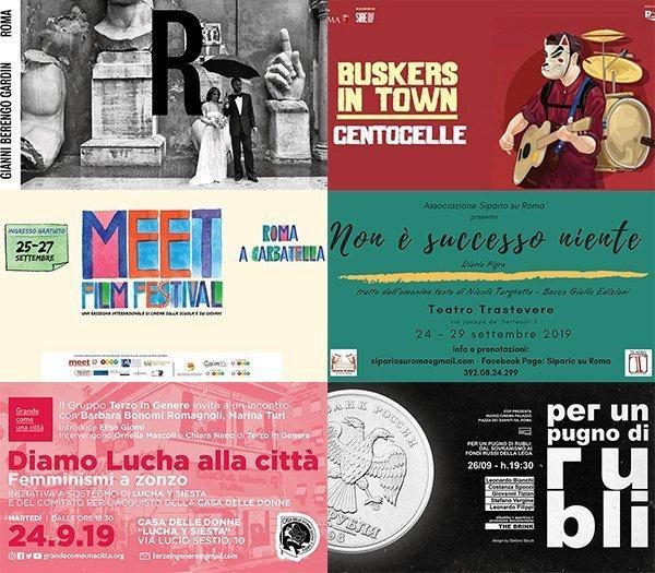eventi roma 23-29 settembre