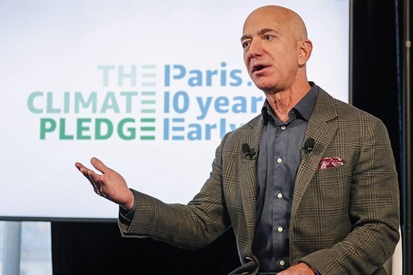 jeff bezos climate change