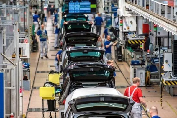 produzione industriale germania