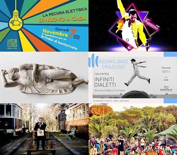 eventi novembre roma