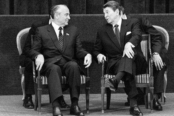 gorbachev reagan