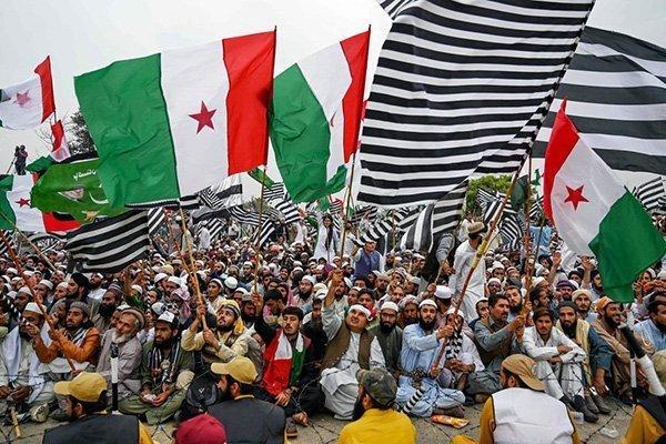 protesta pakistan