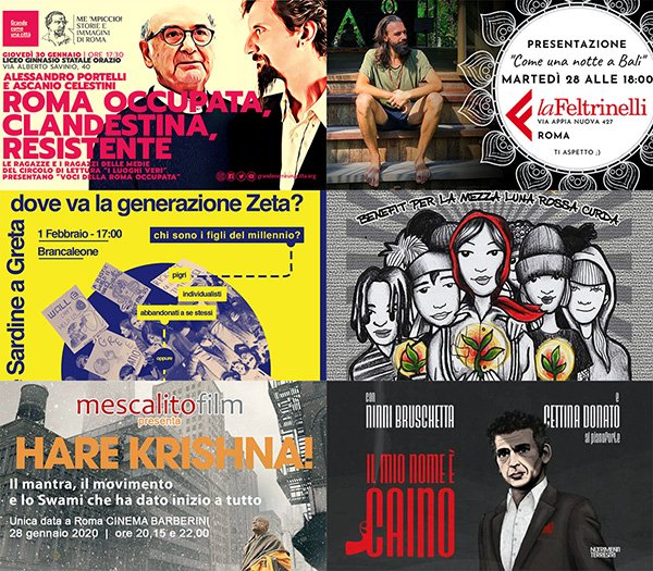 eventi gennaio febbraio roma