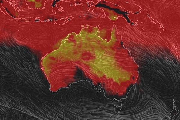australia infrarossi