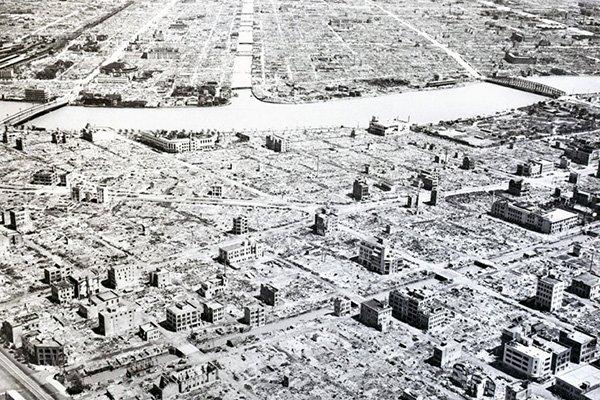 bombardamento tokyo