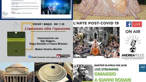 eventi online aprile maggio