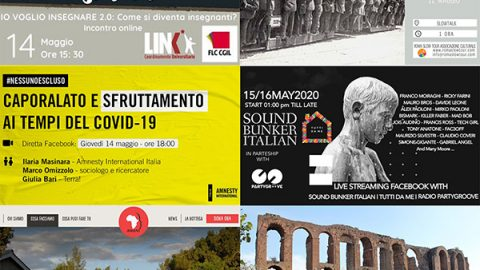 eventi online maggio 11-17