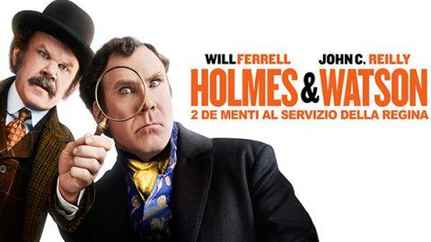 holmes & watson film poster