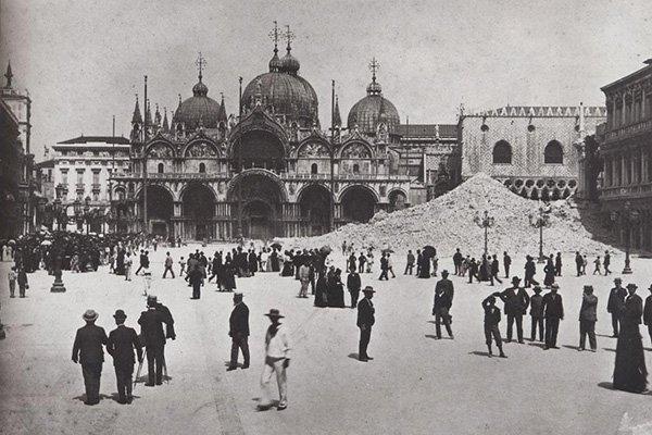 campanile crollato venezia