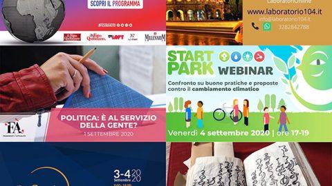 eventi online settembre