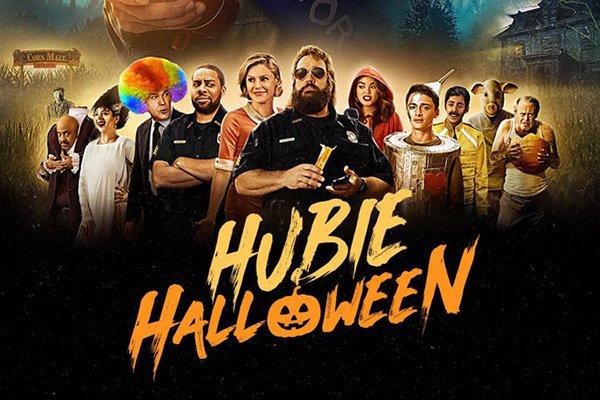 hubie halloween film poster