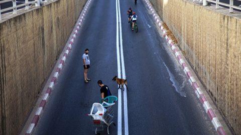 lockdown israele