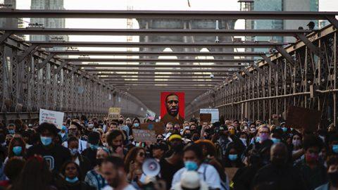 george floyd manifestazione