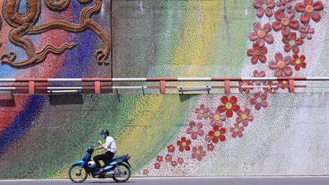 uomo vietnam motorino
