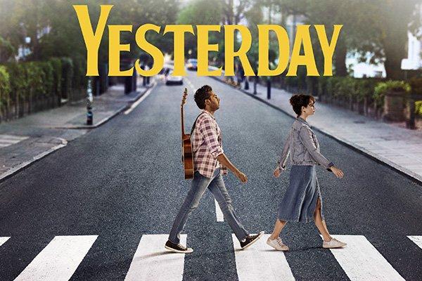 yesterday film copertina