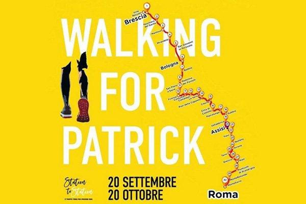 walkng for patrick