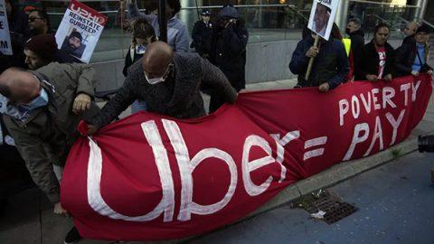 uber protesta